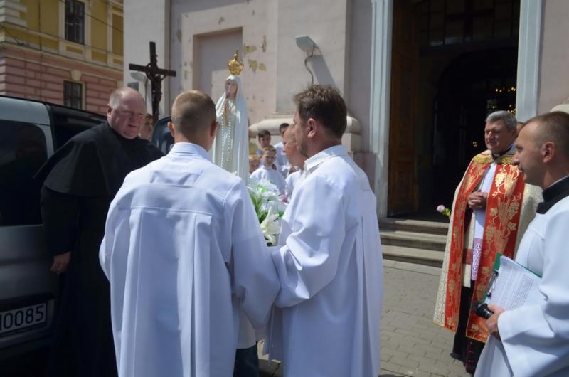 Фатімська Діва Марія в нашій парафії