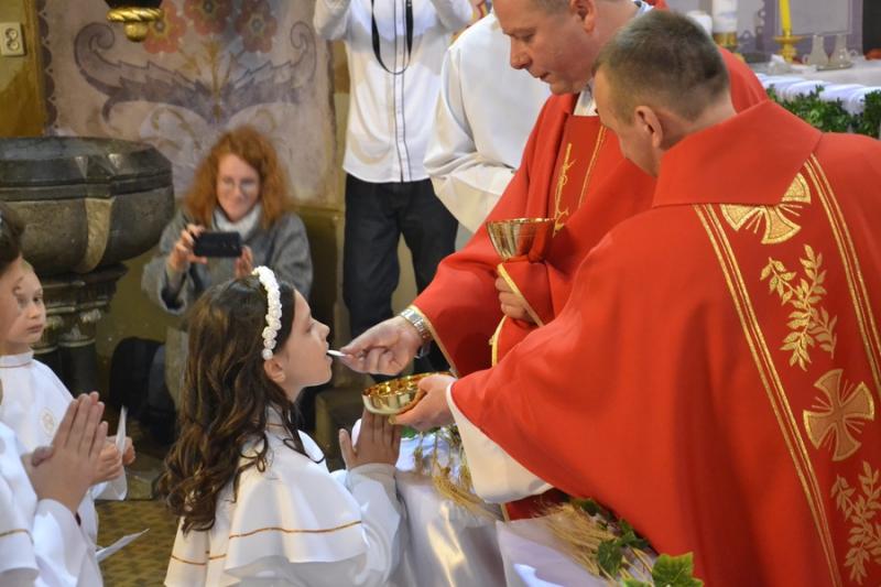 Наші діти вперше прийняли Ісуса