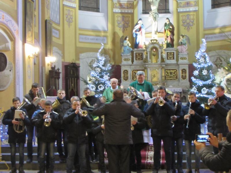 Колядки під оркестр