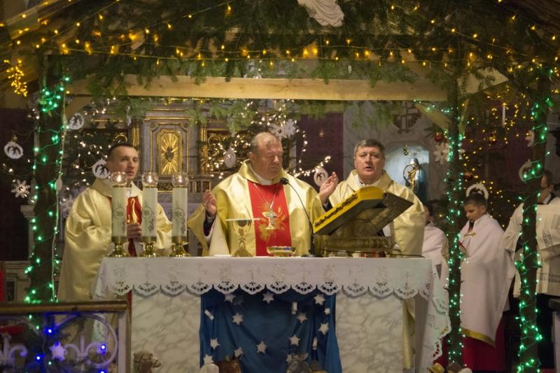 Урочиста «Пастирка» в нашій парафії